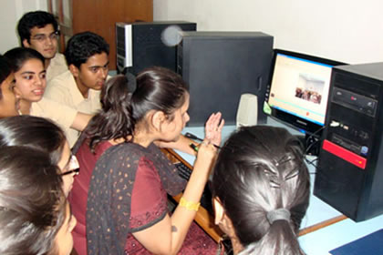 Tagore International School - video conference link-up