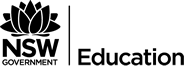 NSW Government, Department of Education Logo