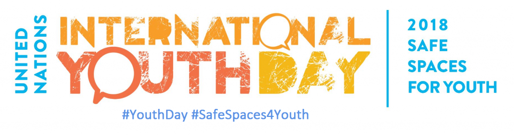 International Youth Day - Safe spaces for youth