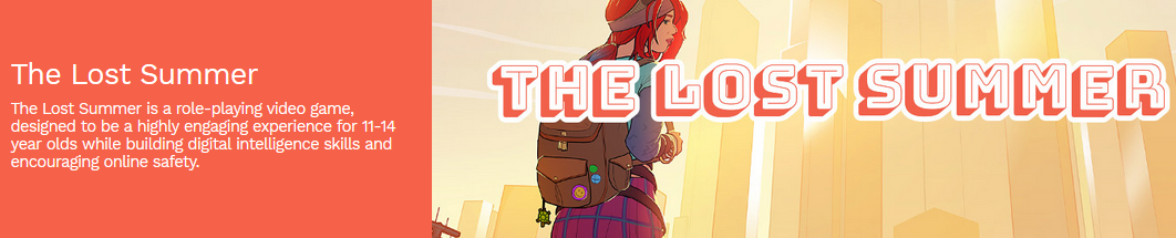 Lost Summer – Educational Game Resource